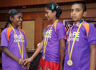 Rewards Children With HoPE