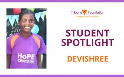 Devishree Dreams Of Becoming A Teacher – Hope Child Spotlight