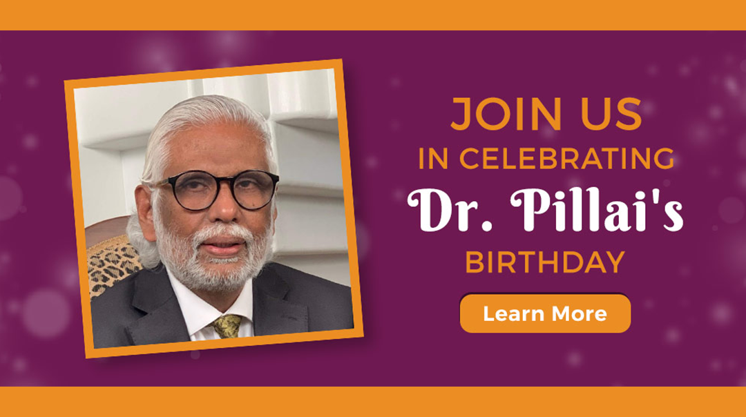 Dr Pillai's Birthday