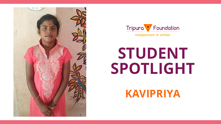 Kavipriya Dreams Of Becoming A Teacher – Hope Child Spotlight