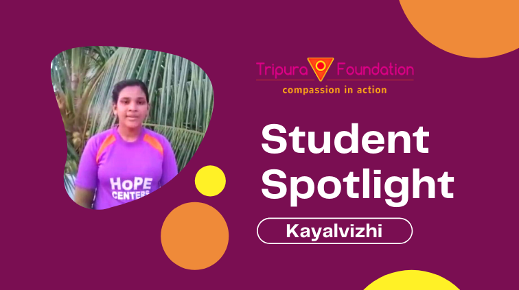 Student Spotlight: Kayalvizhi Sings Songs of Hope