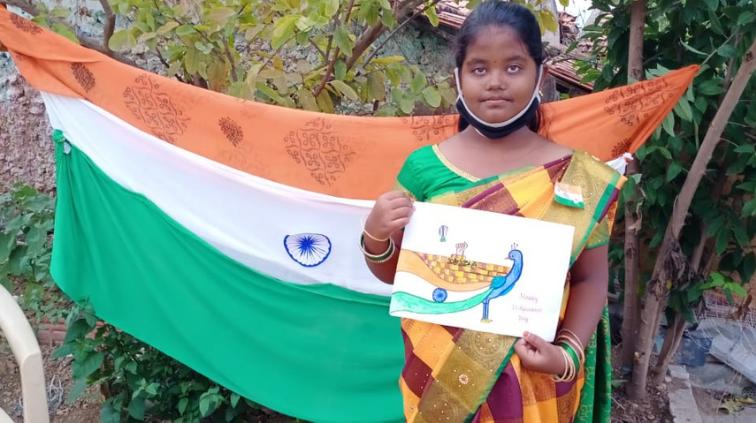 Hope Student Spotlight – Menaka: A Beacon of Hope