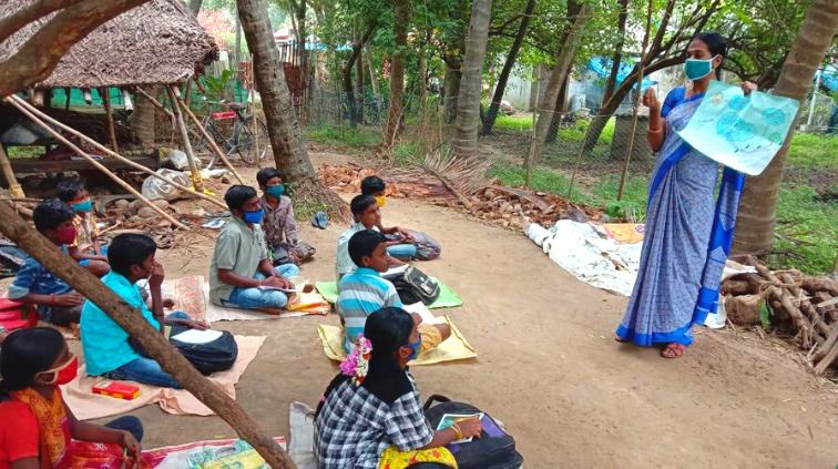 Mrs. Kavitha: Moral and Academic Support for Hope Children