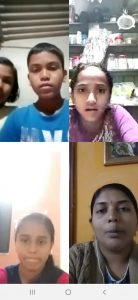 Hope for India virtual education programs Example 01